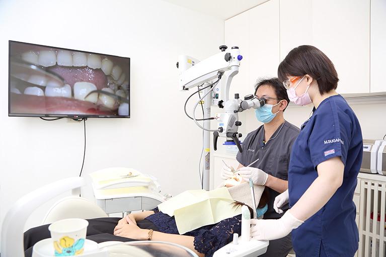 歯周病の検査と治療